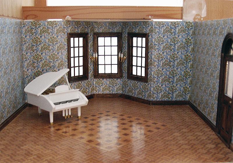 Puppenhausschrank leipziger puppenkiste ev karin for Markise balkon mit william morris tapete