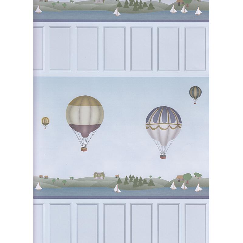 Puppenhaus Tapete Kinderzimmer : Puppenstuben-Tapeten : Tapete Ballon, Kinderzimmer DIN A2