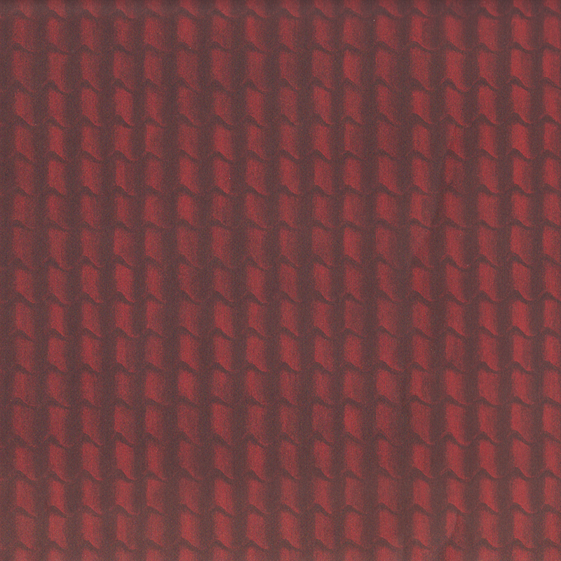 Tapete Dachpfannen rot, grosser Bogen