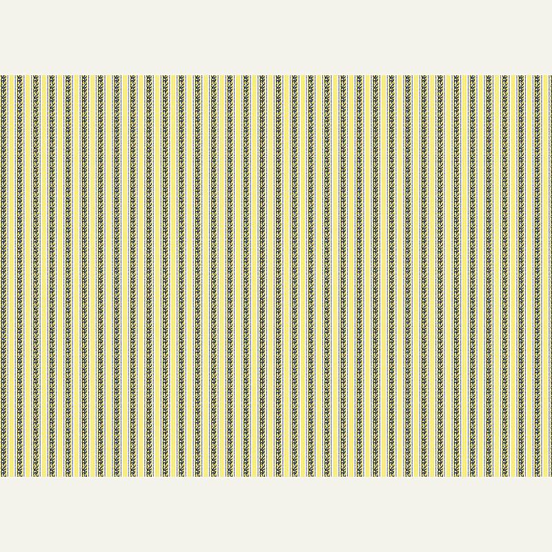 Puppenstuben tapeten tapete gelb gestreift leipziger for Tapete gelb gestreift